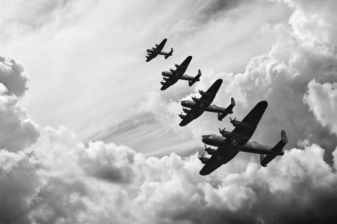 xx xx-2020: de luchtoorlog boven Goeree-Overflakkee.
